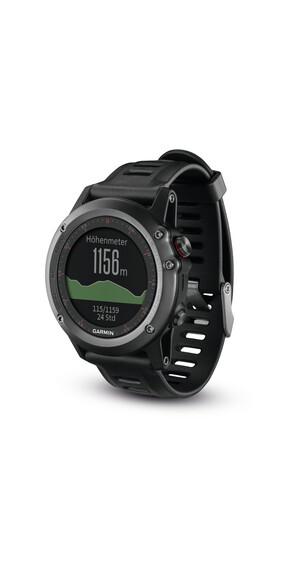 Garmin fenix 3 GPS Multisportsur Performer Bundle grå